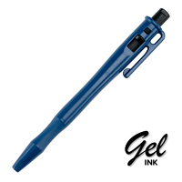 Detectable Retractable Gel Pen - c/w Pocket Clip and Lanyard Loop