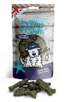 Dog Gone Fishin' White Fish + Kelp Crunchies 75g x 6