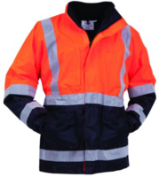 Bison Stamina Hi Vis Day/Night Mesh Lined Jacket