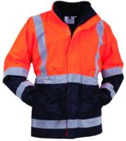 Bison Stamina Hi Vis Day/Night Mesh Lined Jacket