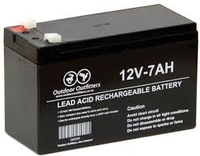 12 Volt 7 AH battery