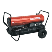 175,000Btu/hr (51.3kW) Heat output.Clean burning.Proven pump system can operate with either paraffin, kerosene or diesel.F