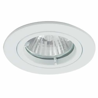 White IP44 Twist-Lock Bathroom Downlight | LV1002.0030