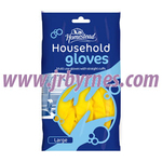 HS Household Rubber Glove Lge x12 (Hstead)