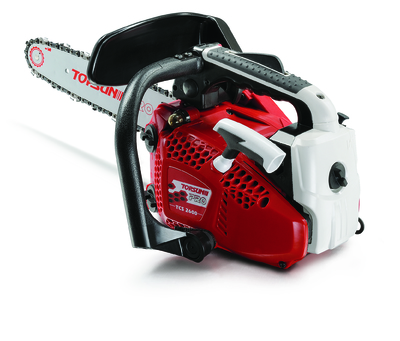 """The TOPSUN PRO 26cc Chainsaw is suitable for professional use and has a 12"""" Bar & Chain"""