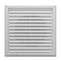 DETA FIXED WALL GRILLE 100mm