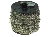PREMIER 30 MTR 2.5MM BRIGHT ZINC KNOTTED CHAIN