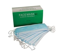 MASKS - ACT ALL FACE MASKS EAR LOOP BLUE