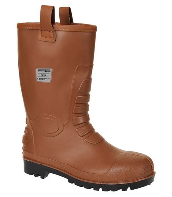 Euro Rigger Fur Lined Rubber Boot S5
