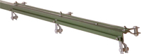1.50M Green 50 x 50 x 6mm A/Iron End For 900mm Fence