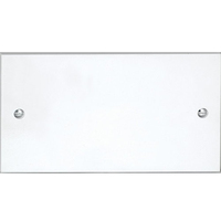 Vimark Double Blank Plate