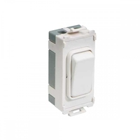2way Retractable Switch Module White|LV0701.1055