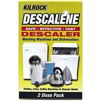 Kilrock Descalene Washing Machine / Dishwasher / Kettle / Iron Descaler (2 Dose Pack)