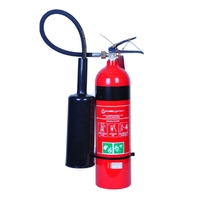 CO2 Fire Extinguisher+Wall Bracket 3.5kg