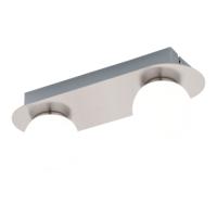 EGLO Mosiano Satin Nickel Twin Spot Wall Light LED 2x3.3w   LV1902.0034