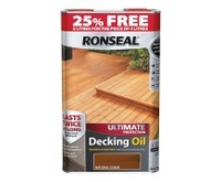RONSEAL ULTIMATE PROTECTION DECK OIL N/CEDAR 4LT+25%