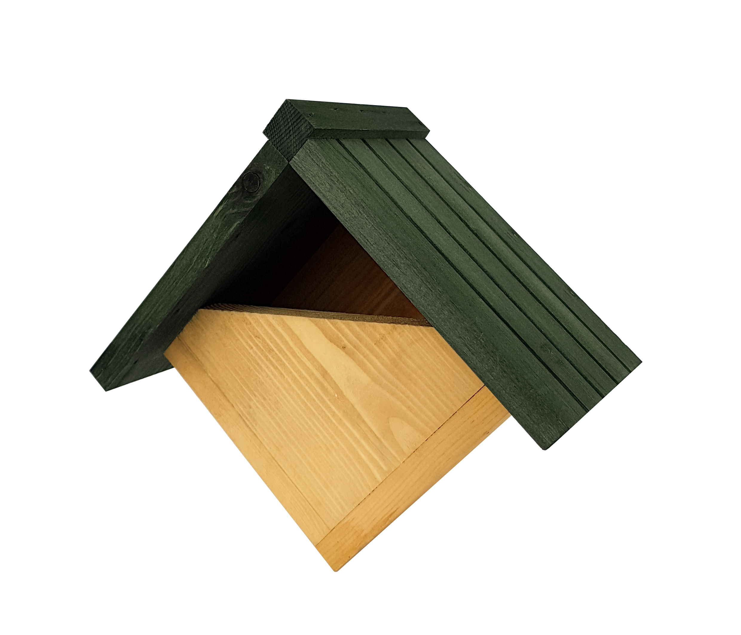 Johnston & Jeff Robin Nest Box with Grooved Roof