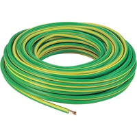 Cable 6491X PVC 1 Core 10mm x 100m Grn/Yellow