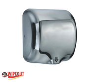 stainless steel brushed automatic hand dryer