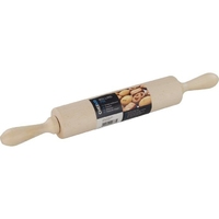 CHEF AID WOODEN ROLLING PIN 9''