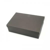 BOX & LID 30 X 23 X 11CM BLACK