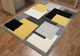 Squares Black/Yellow