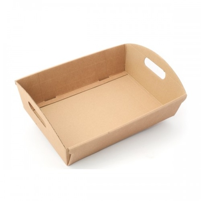 BOX TRAY 220X155X60CM  NAT.CORREGATED