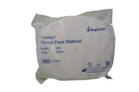 THROAT PACK ORATEX 10m ROLL
