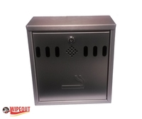 WALL MOUNTED ASHTRAY STAINLESS STEEL