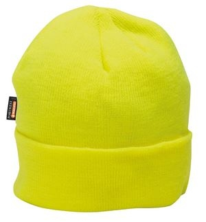 HI-VIS Insulatex Acrylic Beanie Yellow
