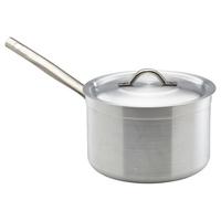 Saucepan & Lid Alum M/D 7 Litre 240mm