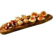 Rustic Platter Olive Wood 45cm x 13cm