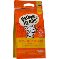 Meowing Heads Paw Lickin' Chicken 450g x 1