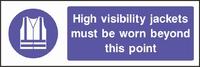 Mandatory and Protective Clothing Sign MAND0003-0908