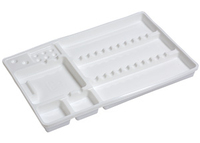 MONOTRAYS STANDARD WHITE x 50  - RECYCLABLE_x000D_ _x000D_