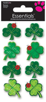 4 Leaf Clover Large Essential Craft Sticker. (Priced in singles, order in multiples of 6)