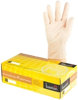 Clear Latex Gloves Lightly Powdered Pkt 100