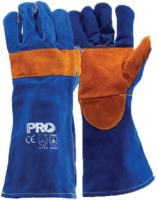 Blue Welders Glove Kevlar Stitched