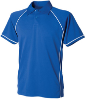 Finden Hales Performance Piped Polo Shirt 100% polyester Coolplus
