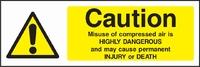 Warning and Machinery Hazard Sign WARN0008-1794