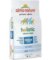 Almo Nature Holistic Grain Free Medium & Large Dog Pork & Potato 12kg