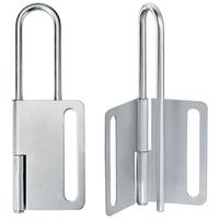 Master Lock Steel heavy duty lockout hasp, 76mm jaw clearance
