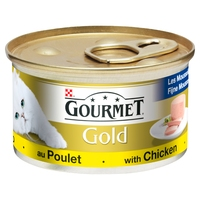 Gourmet Gold Cat Can Chicken Pate 85g x 12