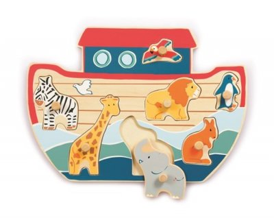 Wooden Puzzle Noah's Ark.