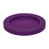 Round tapered bin lids