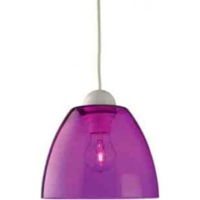 YORK PENDANT PURPLE E27 (NO BULB INCLUDED)