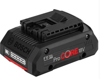 Bosch GBA4.0 18V 4.0Ah Li-ion ProCore Battery (Ploughing Special Discount Price)