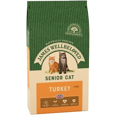 James Wellbeloved Senior Cat Turkey 1.5kg