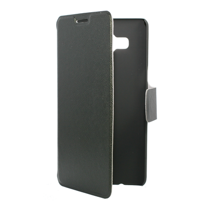 FOLIO1153 Galaxy J1 Black Folio Case