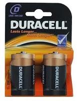 Duracell Batteries Type D ( 2pk x 10 ) Bulk Pack
